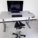 Pirma sähköistetty työpöytä